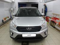 Hyundai Creta Установка антигравийной пленки LLUMAR GLOSS