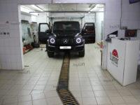 Mercedes-Benz G-Класс AMG: тонировка