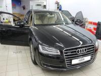 Audi A8: Тонирование а/м