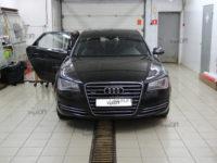 Audi A8: тонировка
