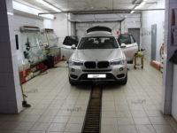 BMW X3: тонирование задней