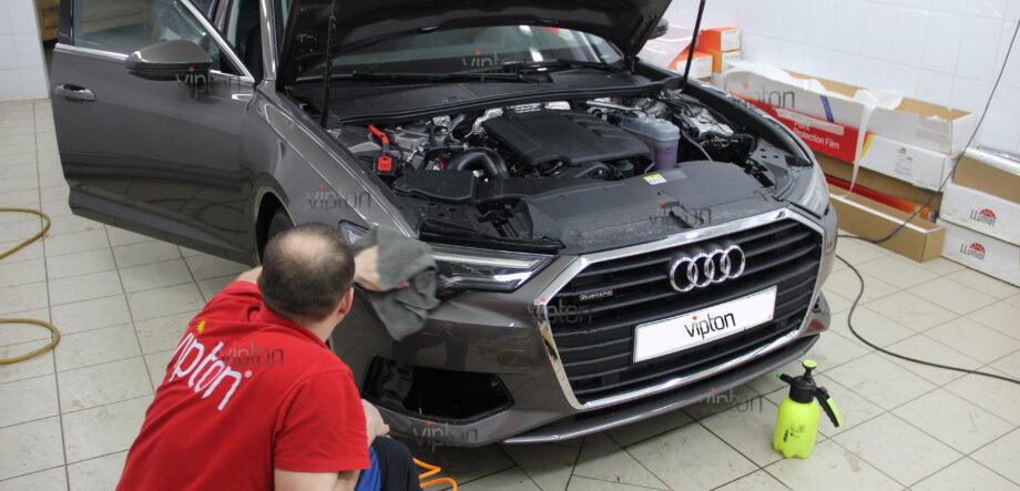 Audi A6:  расширенный пакет 2