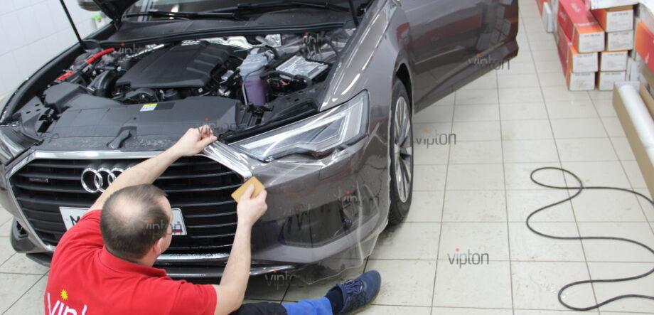 Audi A6:  расширенный пакет 8