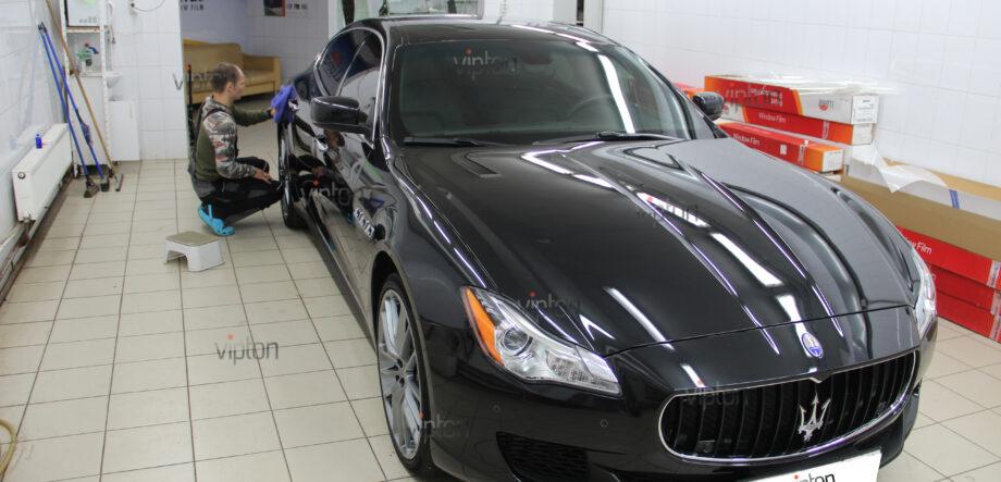 Maserati Quattroporte покрытия-Ceramic Pro 15