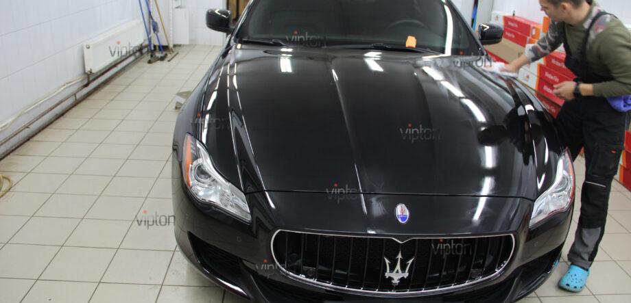 Maserati Quattroporte покрытия-Ceramic Pro 11