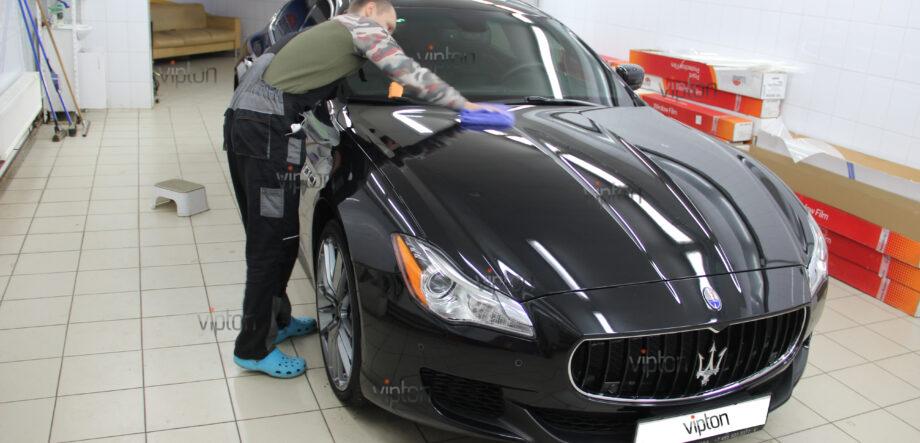 Maserati Quattroporte покрытия-Ceramic Pro 10