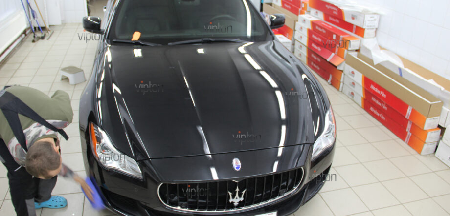 Maserati Quattroporte покрытия-Ceramic Pro 9