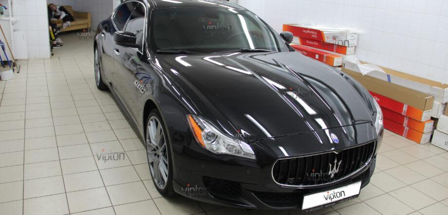 Maserati Quattroporte покрытия-Ceramic Pro 5
