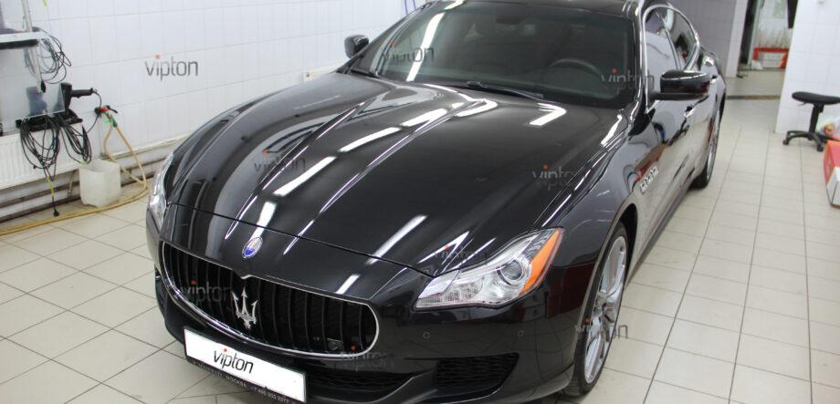 Maserati Quattroporte покрытия-Ceramic Pro 1