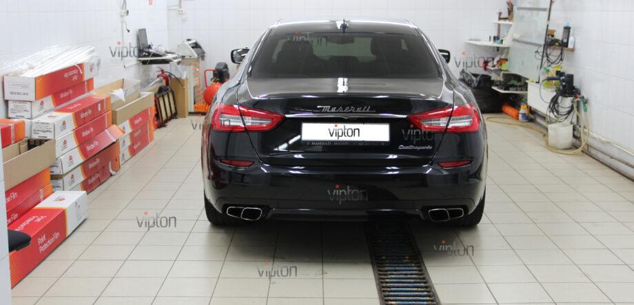 Maserati Quattroporte покрытия-Ceramic Pro 2