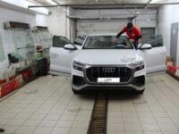 Audi Q8 тонирование всех стекл