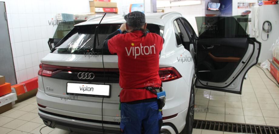 Audi Q8 тонирование всех стекл 1