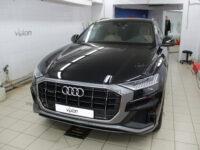 Audi Q8: Бронирование стекол