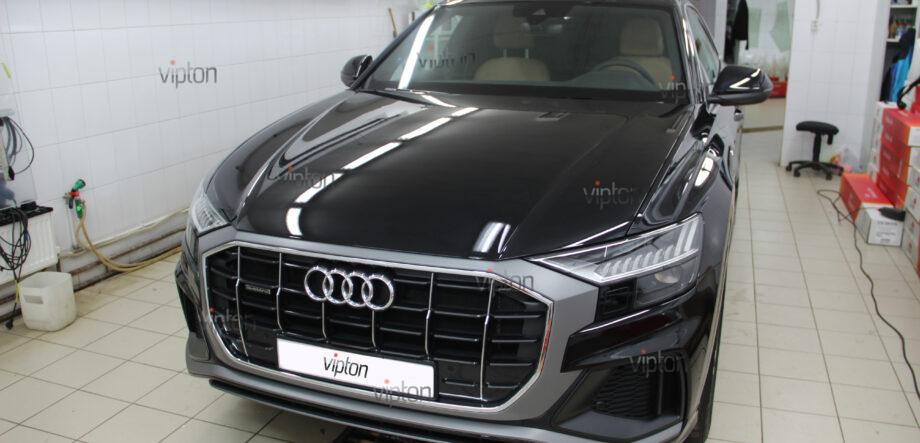 Audi Q8: Бронирование стекол 1