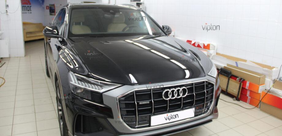 Audi Q8: Бронирование стекол 2