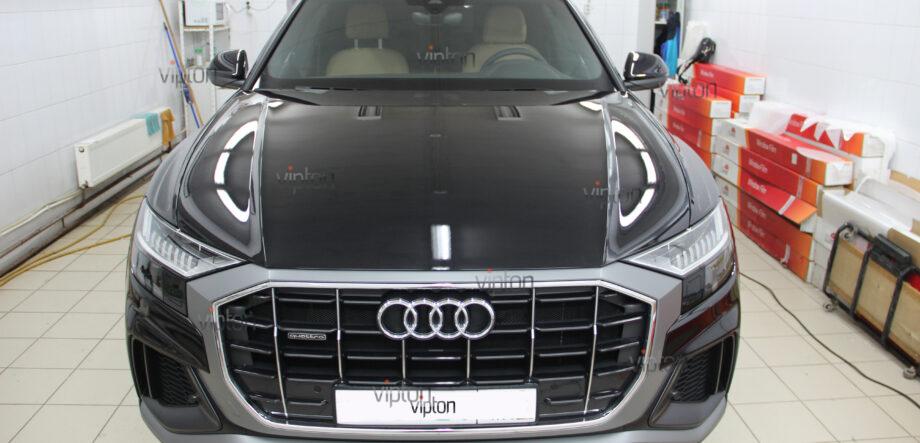 Audi Q8: Бронирование стекол 3