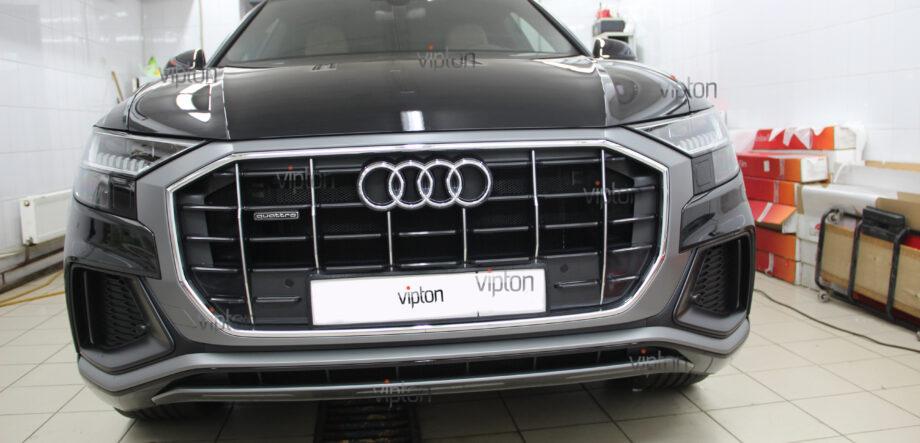 Audi Q8: Бронирование стекол 4