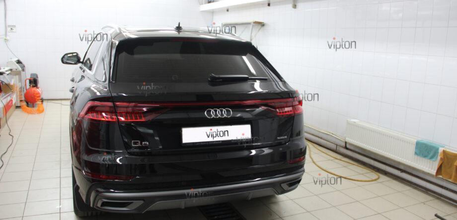 Audi Q8: Бронирование стекол 6