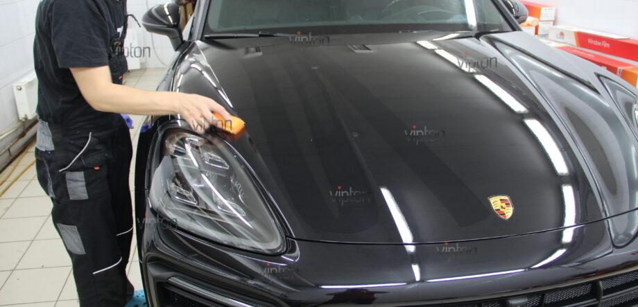 Porsche Cayenne покрытия Ceramic Pro 6