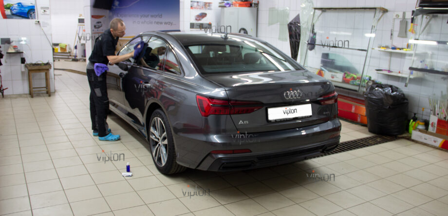 Audi A6 покрытия servFaces 2