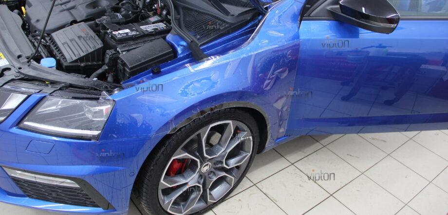 Skoda Octavia RS:Расширенное покрытие 7