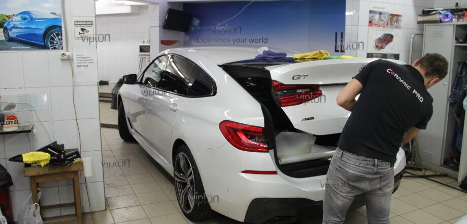 BMW 6 серии (G32)покрытия Ceramic Pro (3 слоя) 11