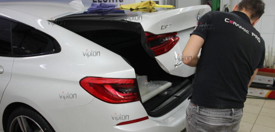 BMW 6 серии (G32)покрытия Ceramic Pro (3 слоя) 10