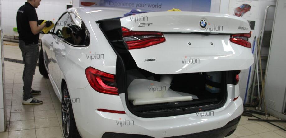 BMW 6 серии (G32)покрытия Ceramic Pro (3 слоя) 8