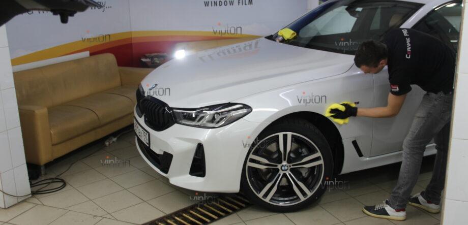BMW 6 серии (G32)покрытия Ceramic Pro (3 слоя) 5