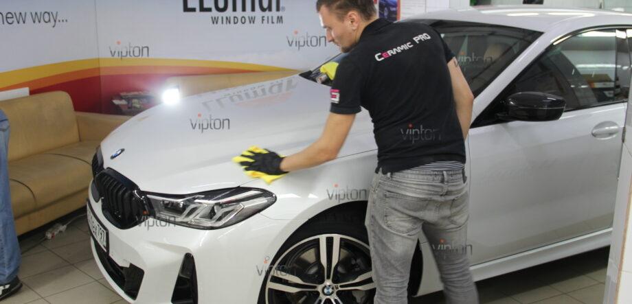 BMW 6 серии (G32)покрытия Ceramic Pro (3 слоя) 4