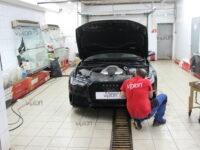 Audi A6: бронирование фар