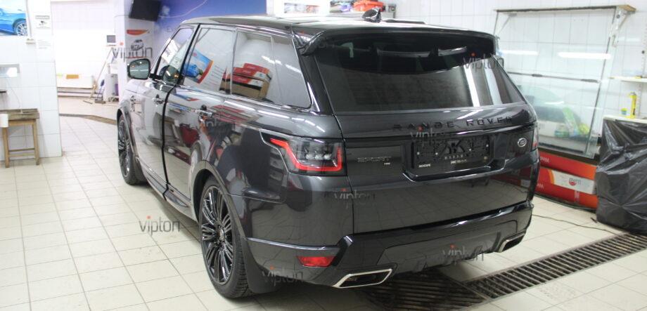 Range Rover Sport: Suntek PPF: расширенный пакет 2