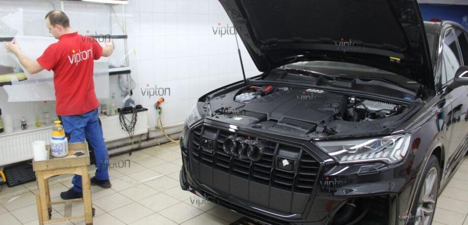 Audi Q8 антигравийная пленка 8
