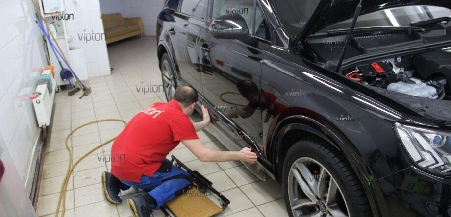 Audi Q8 антигравийная пленка 10