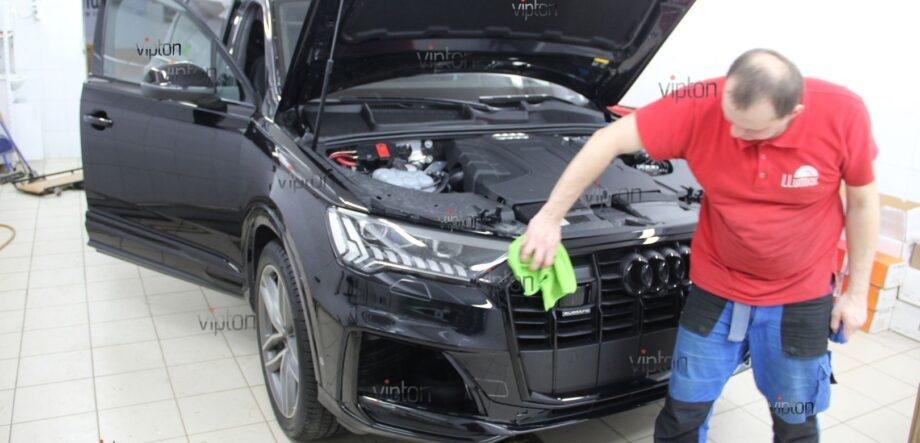 Audi Q8 антигравийная пленка 5