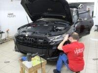 Audi Q8 антигравийная пленка