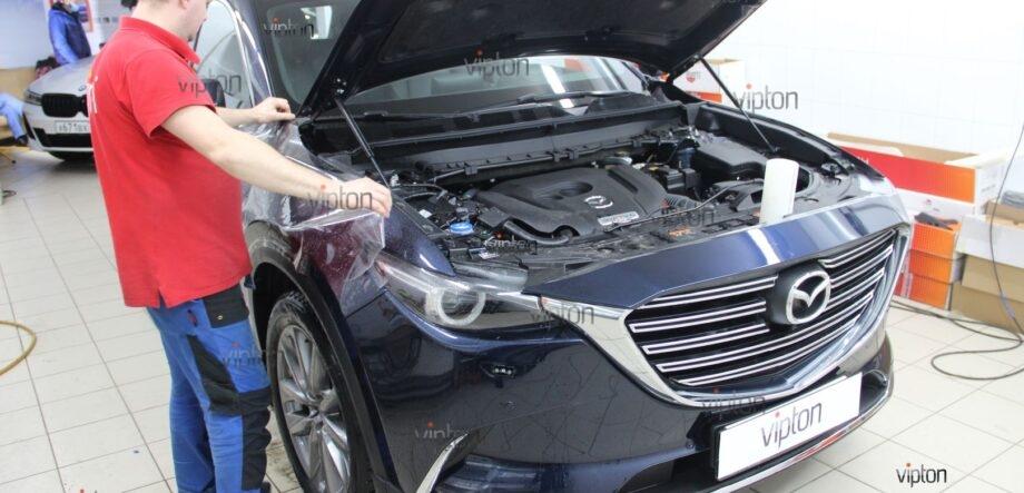 Mazda CX5 антигравийная пленка 6