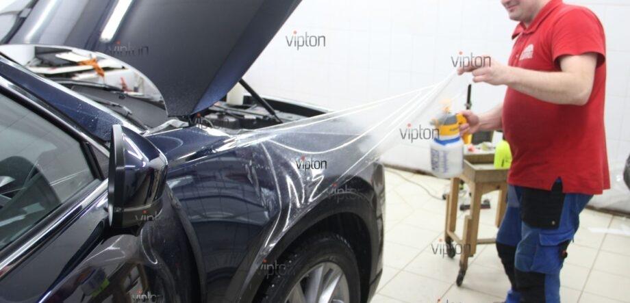 Mazda CX5 антигравийная пленка 7