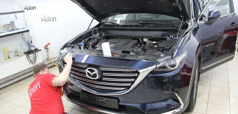 Mazda CX5 антигравийная пленка 1