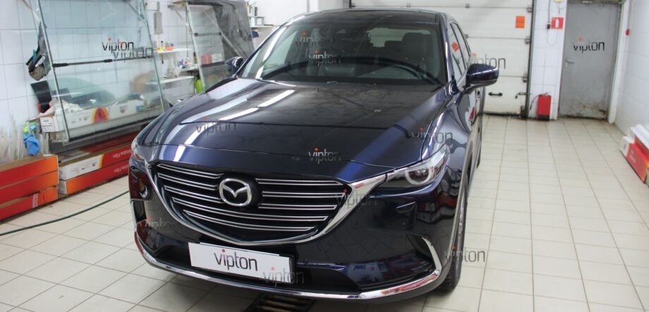 Mazda CX5 антигравийная пленка 9