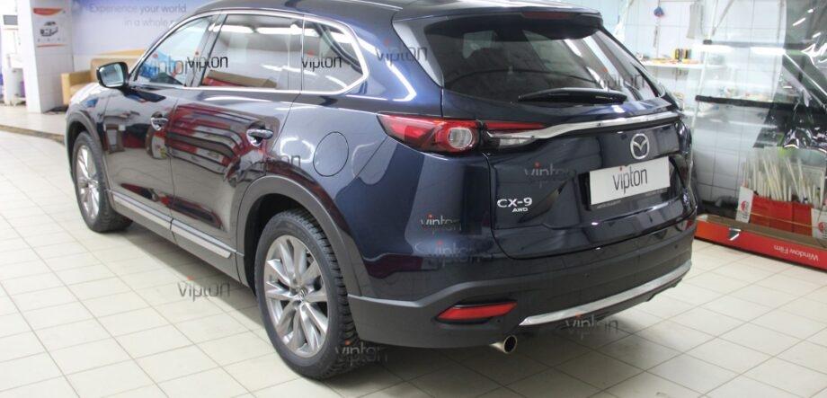 Mazda CX5 антигравийная пленка 5