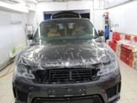 Range Rover Sport антигравийная пленка