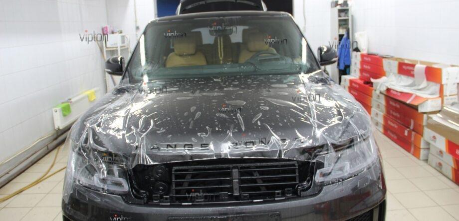 Range Rover Sport антигравийная пленка 7