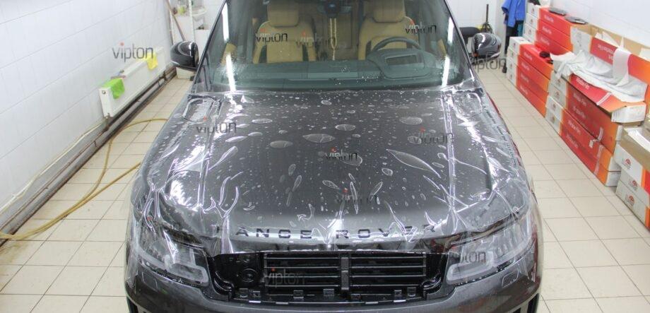 Range Rover Sport антигравийная пленка 8