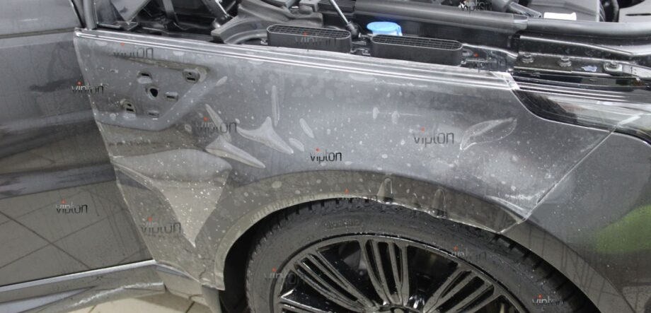Range Rover Sport антигравийная пленка 2