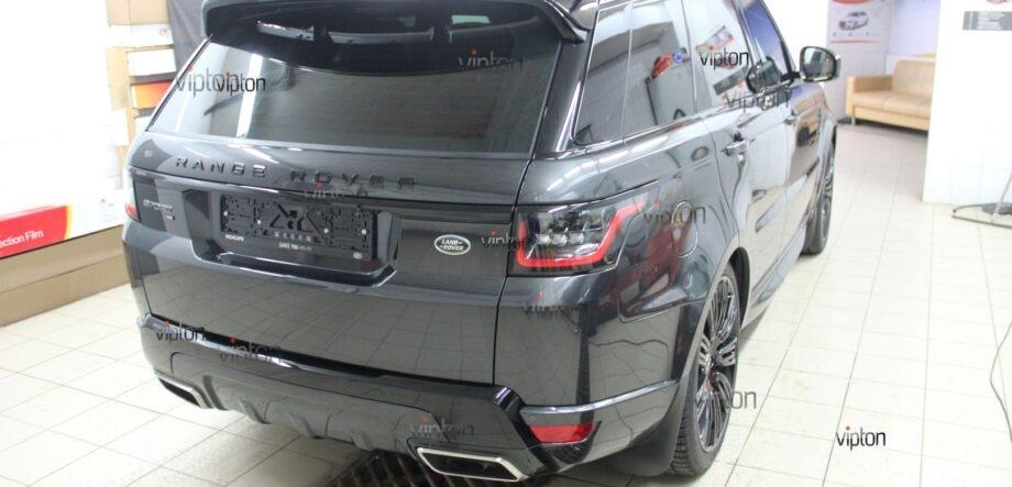 Range Rover Sport антигравийная пленка 4