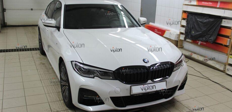 BMW 3-й серии (G20) антигравий фары 1