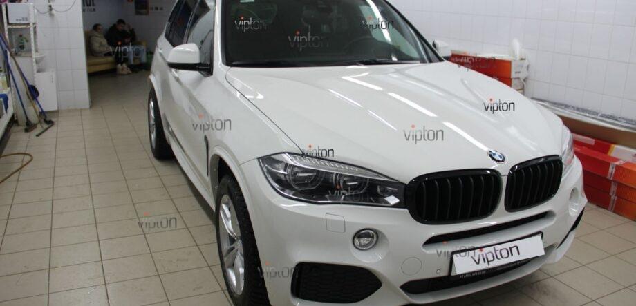 BMW X5 антигравийная пленка 1