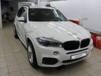BMW X5 антигравийная пленка